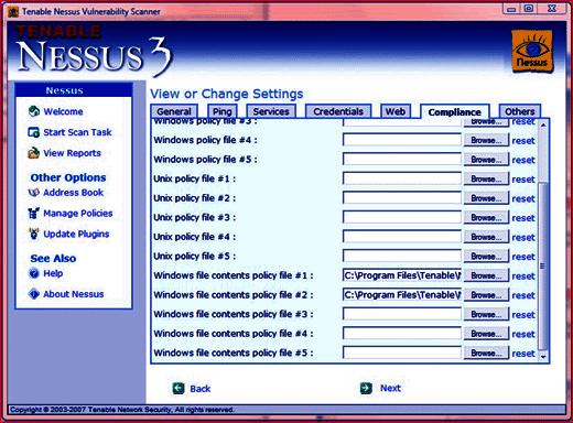 nessus for windows